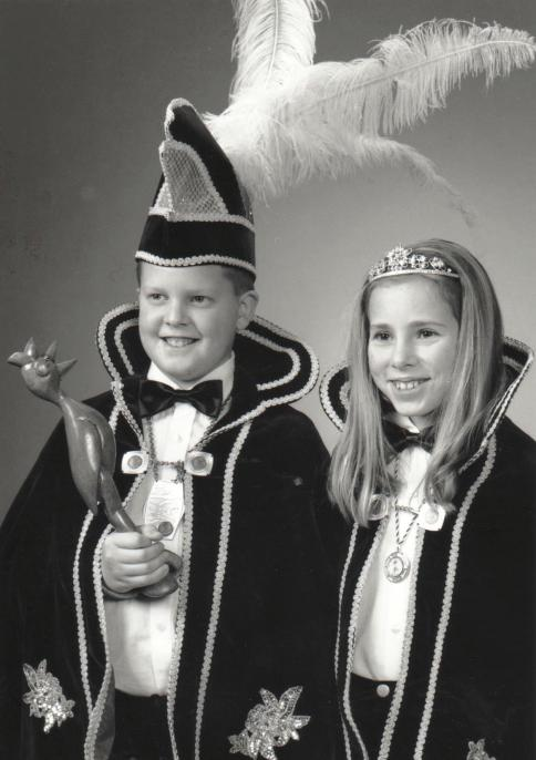 jeugdprins Rik en Prinses Monique 2001